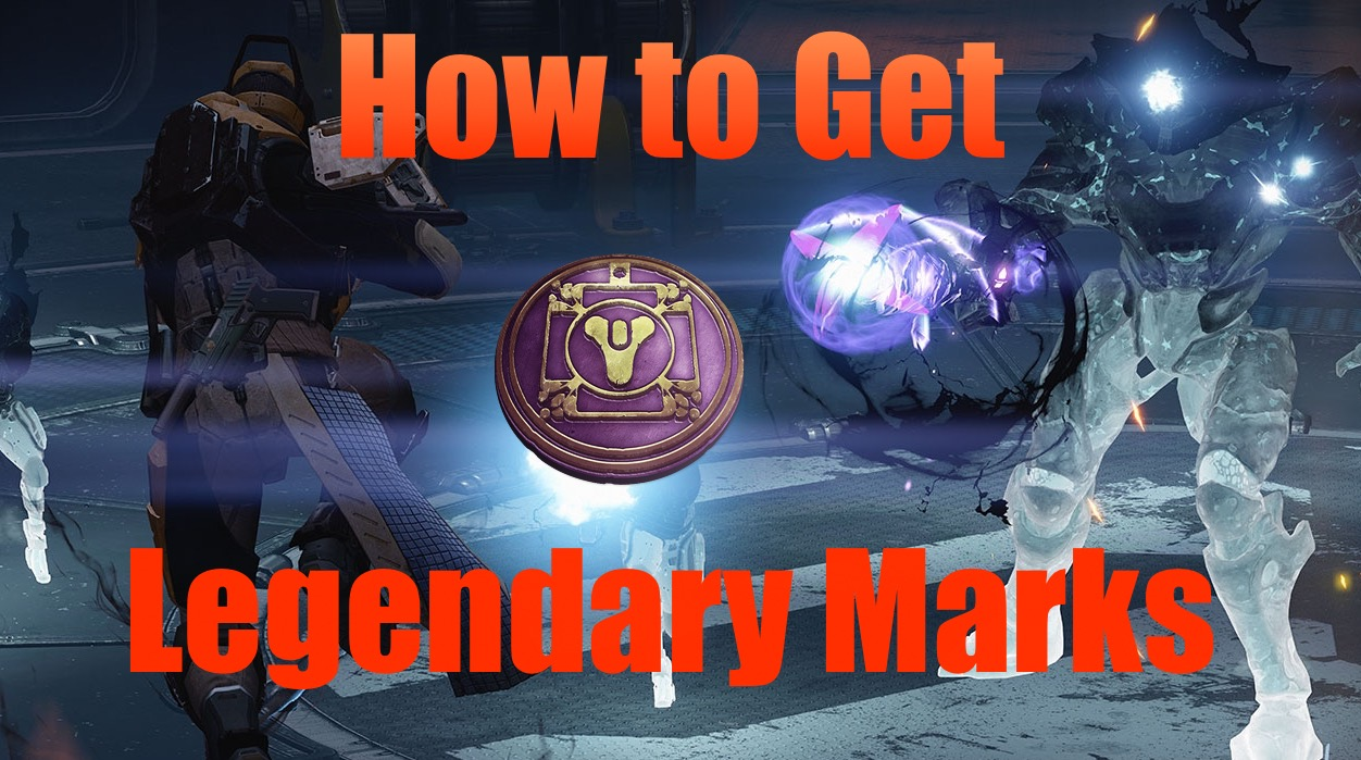 Learn how to get Legendary Marks fast in Destiny: The Taken King.