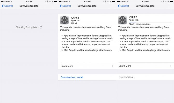Step 1: Get Familiar with iOS 9.2 & Its Changes