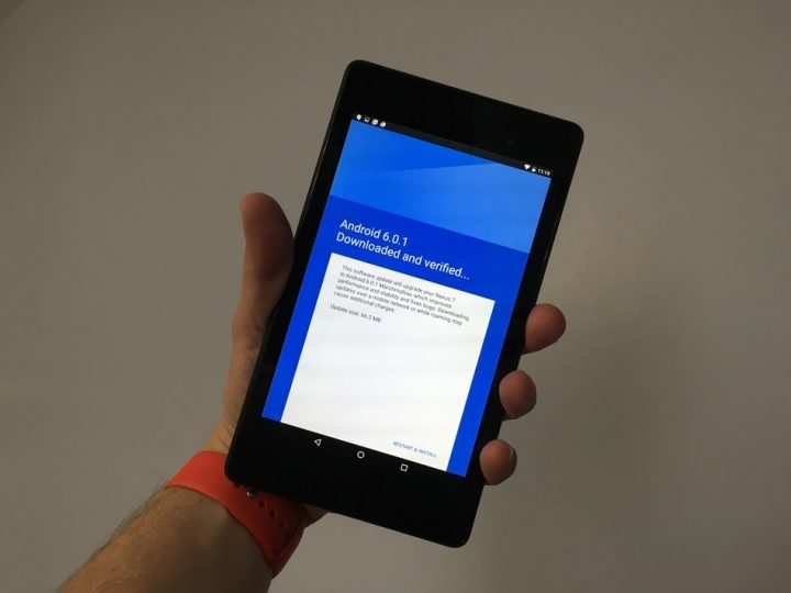 Nexus 7 Android 6.0.1 Update Review