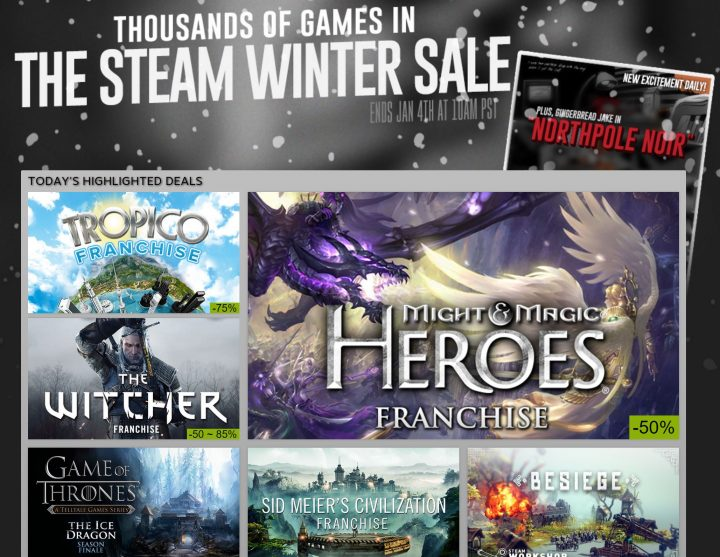 Steam Winter 2015 Sale