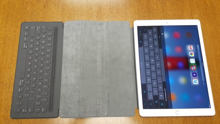 ipad pro smart keyboard keyboard open
