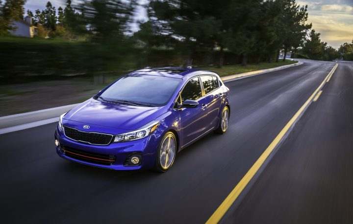 The 2017 Forte5 from Kia.