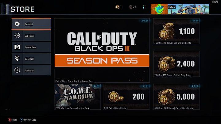 2016 Black Ops 3 DLC Plans