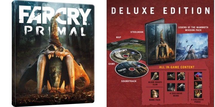 Far Cry Primal Release Date - Deluxe Edition