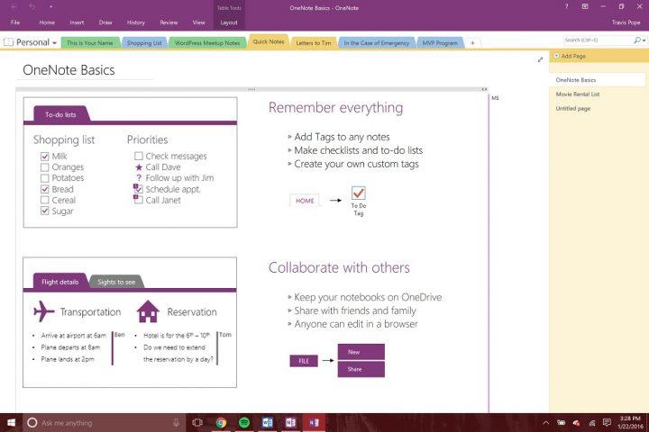 Microsoft OneNote Tips (1)