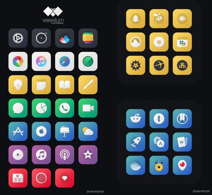 Veexillum iPhone Theme