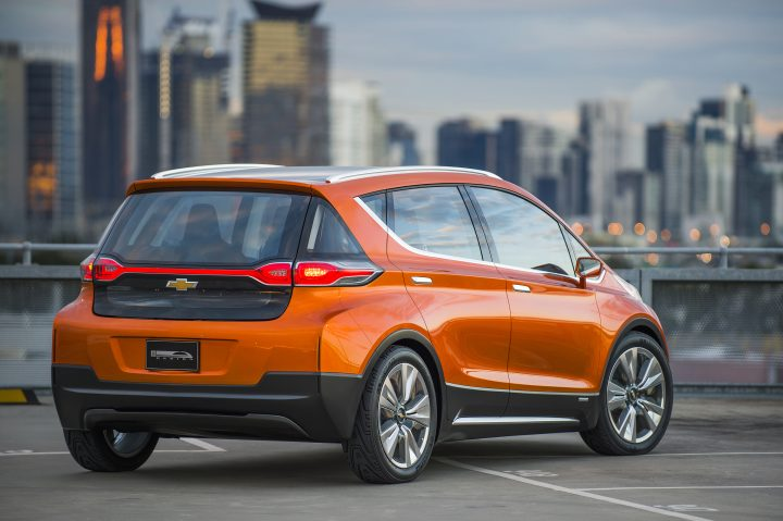 2015 Chevrolet Bolt EV Concept all electric vehicle – rear ext