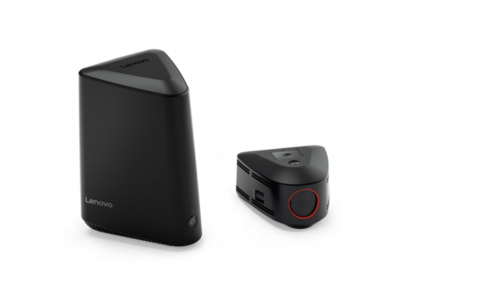 ideacentre 610S with Optional Wireless Projector detached