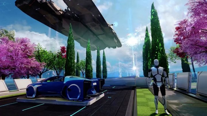 A big ship on Nuk3twon in Call of Duty: Black Ops 3 is a teaser for Call of Duty: Infinite Warfare.