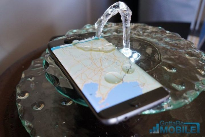 Water-Resistant Galaxy S7