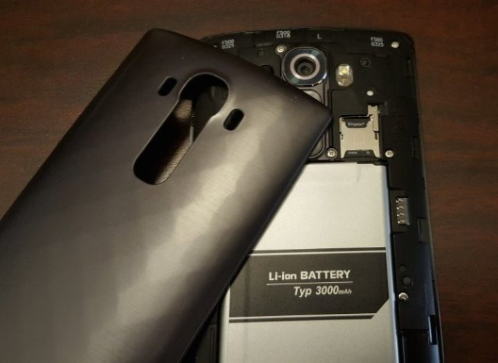 LG G5 Removable Battery and Micro-SD