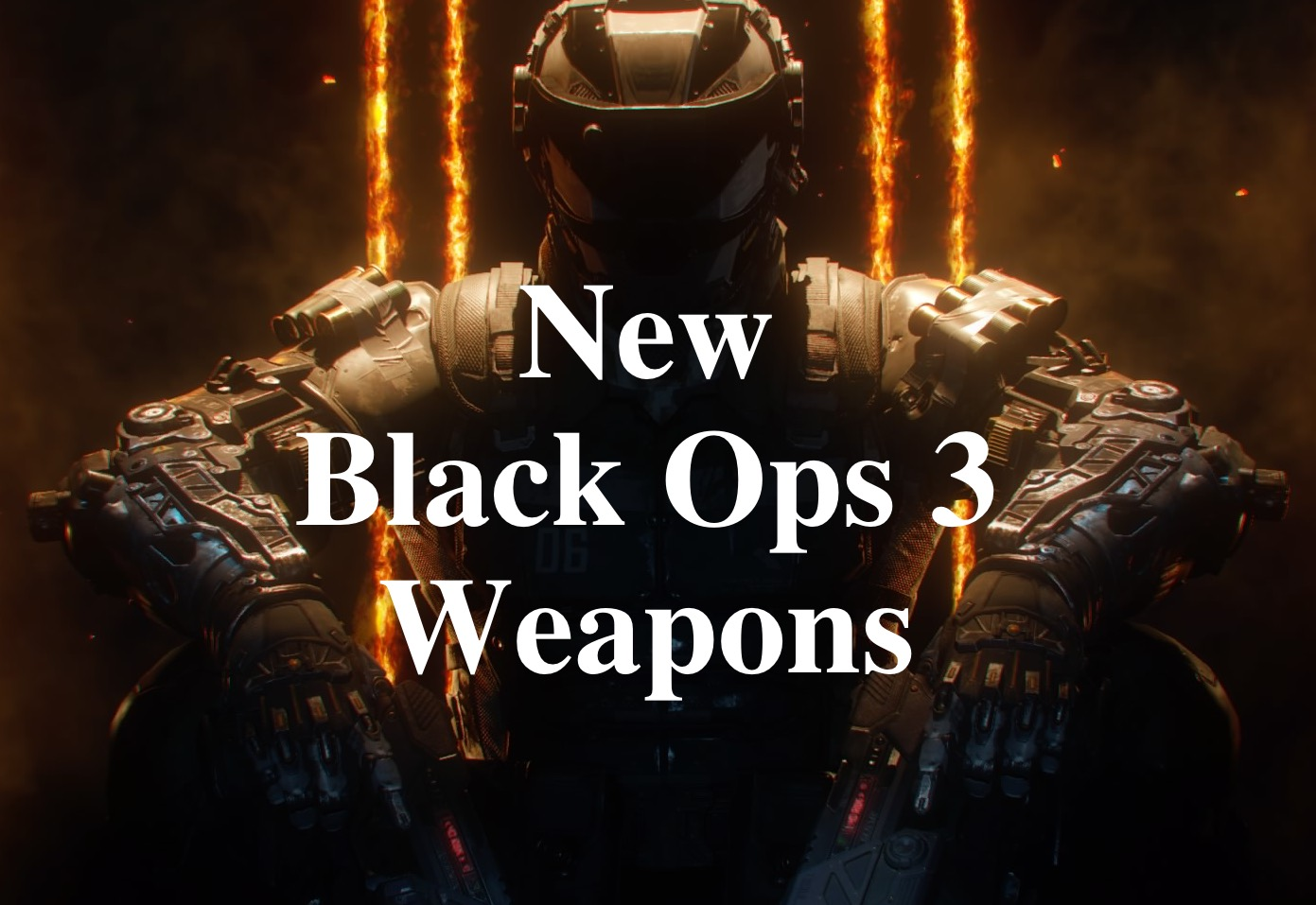 Here is what we know about the new Black Ops 3 Weapons.