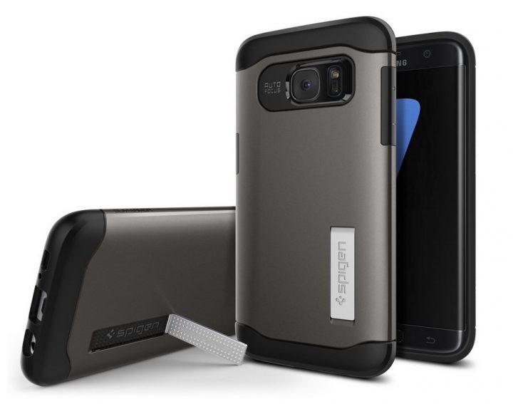 Spigen Slim Armor Kickstand for Galaxy S7 Edge