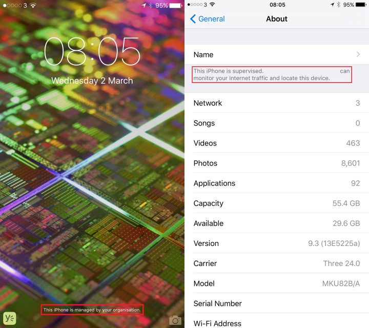 iPhone Tracking Alerts