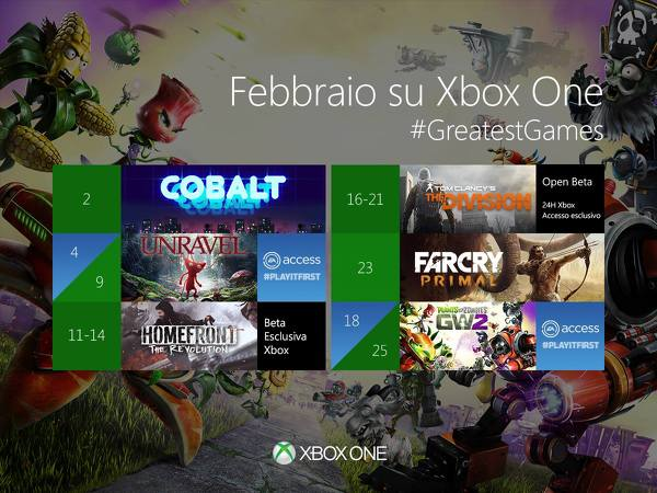 An image posted to Xbox Italy's Facebook page, according to EuroGamer.
