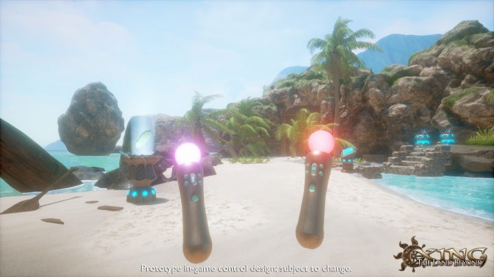 Xing: The Land Beyond - one of the games coming to PlayStation VR.