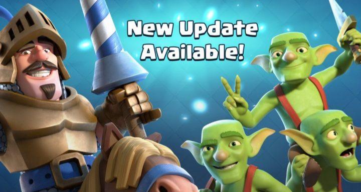 Clash Royale Update Release Date