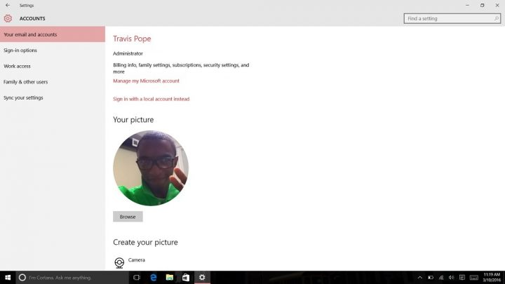 How to Login to Windows 10 with Your Finger (4)