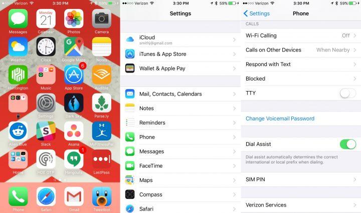 How to Turn on Verizon Wifi Calling iPhone - 2