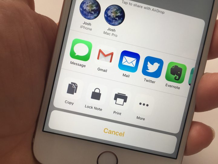 Lock notes on iPhone and iPad using a password or Touch ID.