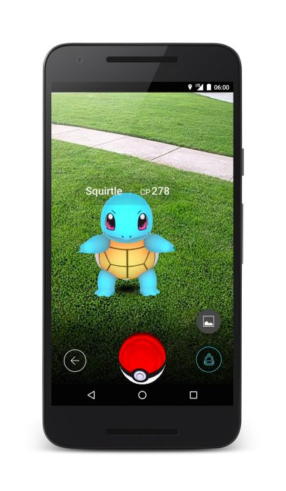 Pokémon Go device 2