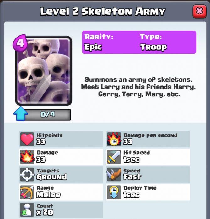 Royale-skeletons