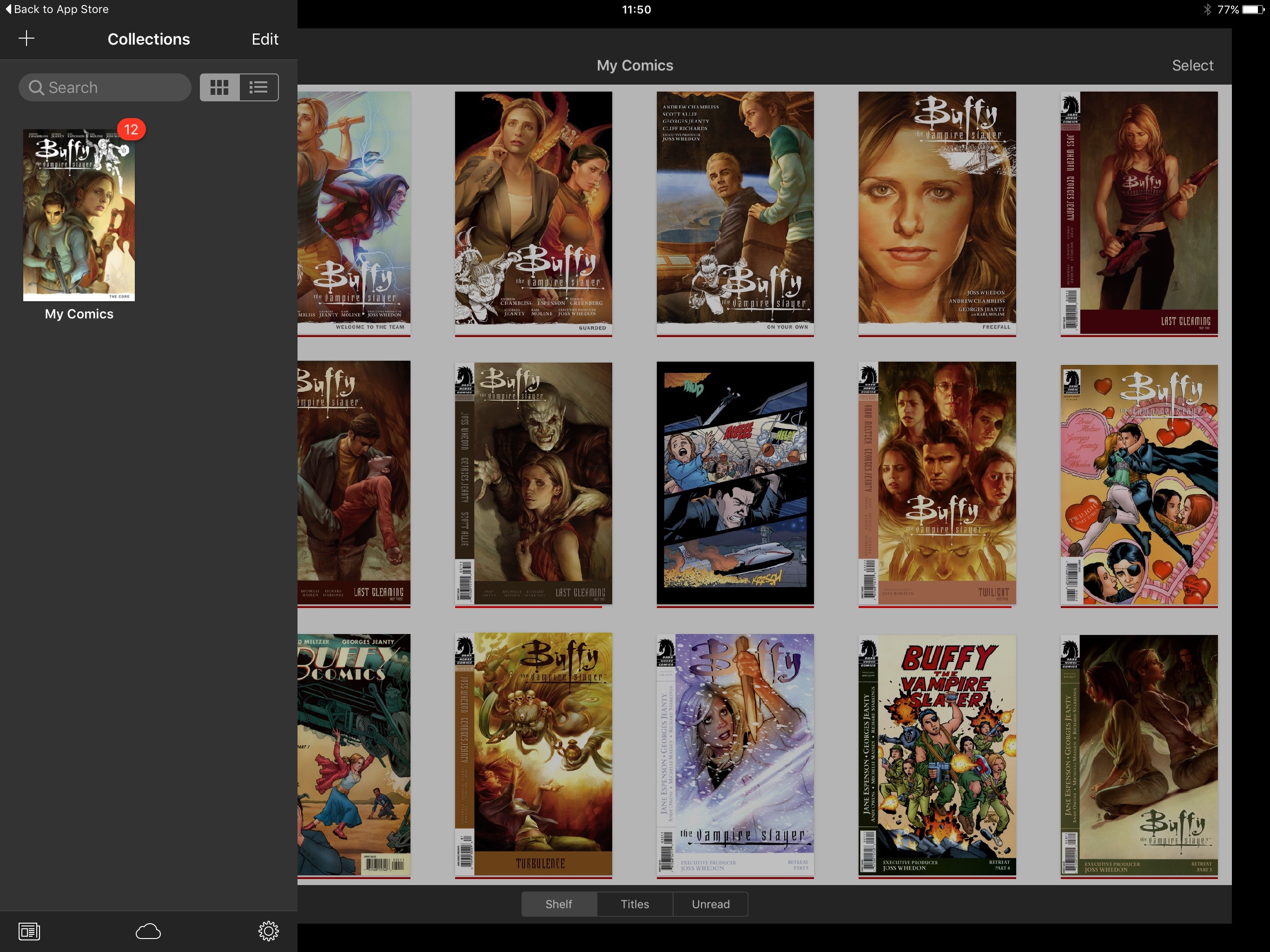Comics on iPad: iComics - Best CBR Reader