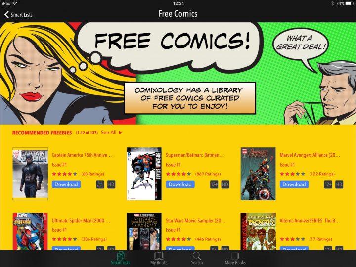 Comics on iPad: Comics - Best CBR Reader