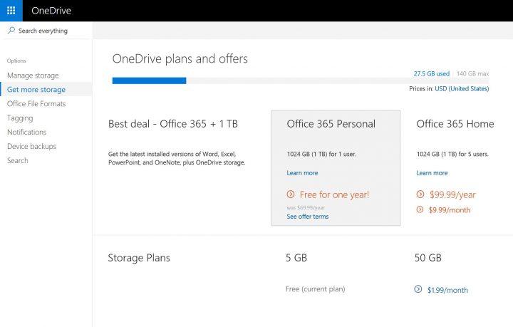 onedrive-storage-options