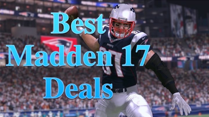 These are the best Madden 17 deals you can find, plus one we expect will chop the price to as little as $8.