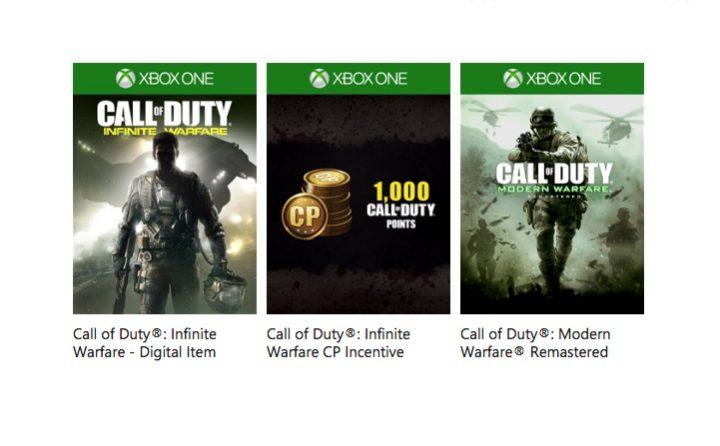 There are already Call of Duty: Infinite Warfare pre-order bonuses.