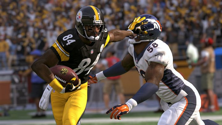 Take control of the biggest stars using new controls and AI to win in Madden 17.