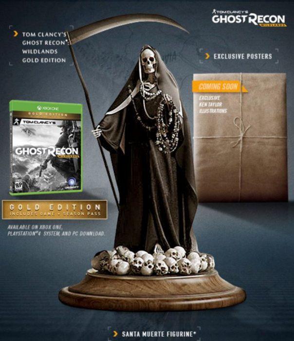 ghost recon wildlands gold collector's edition