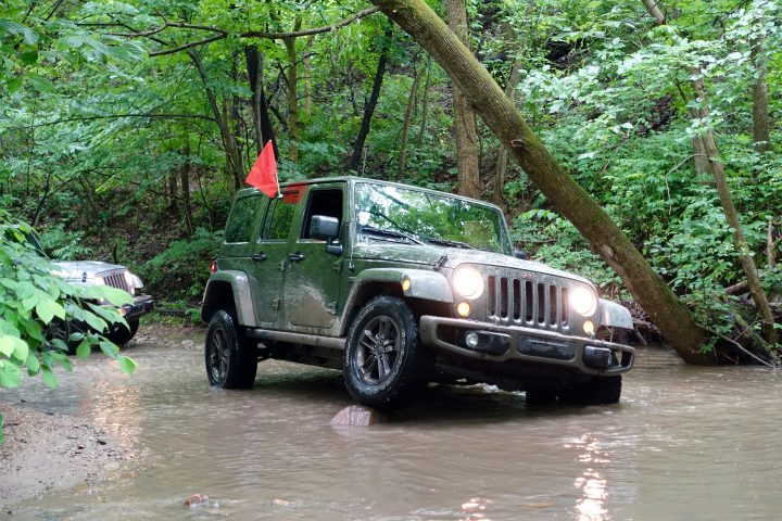 Go almost anywhere in this 2016 Jeep Wrangler Unlimited with the 75th Anniversary package.