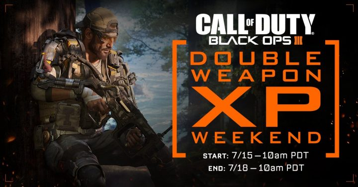 What you need to know about the July Black Ops 3 Double XP weekend.