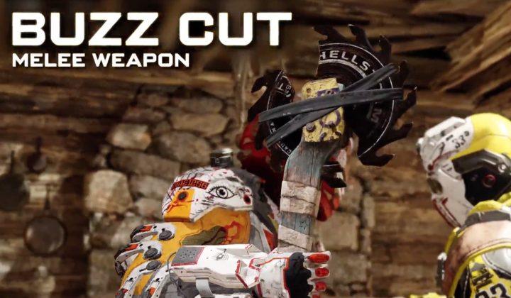 Buzz Cut Melee Weapon