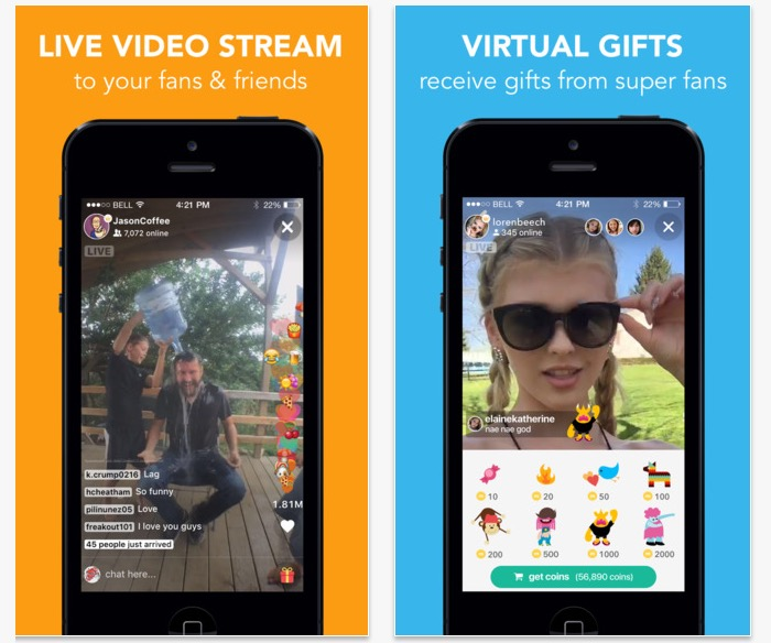 The Live.ly app lets you go live on Musical.ly.