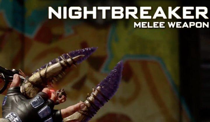 Nightbreaker Melee Weapon