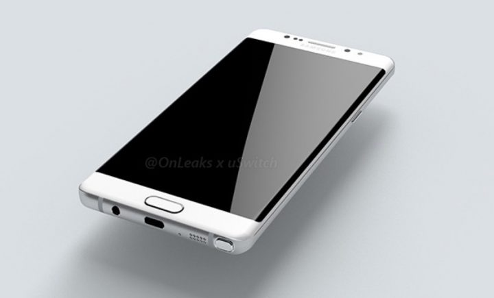 Galaxy Note 6 Render based off of leaked blueprints
