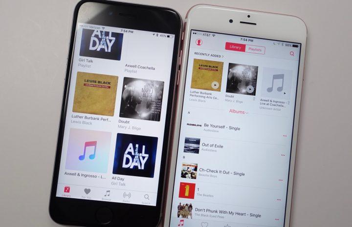 iOS 10 Apple Music Upgrades