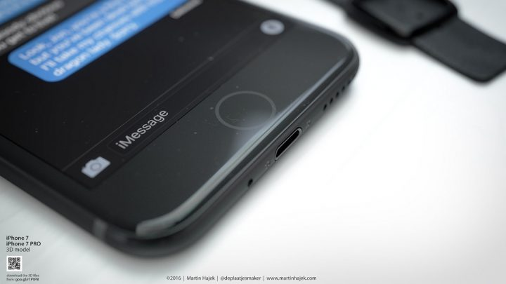 What a new iPhone 7 home button might look like. (Martin Hajek)