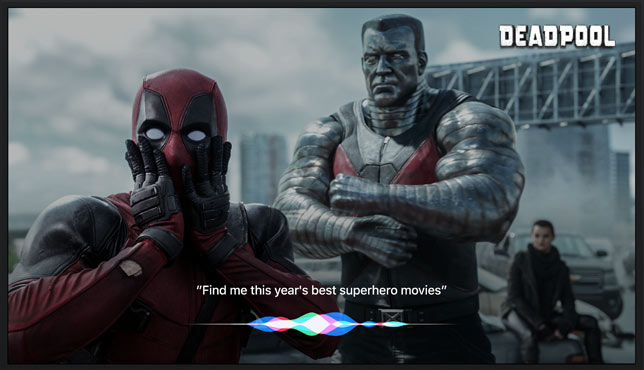 Do more with Siri in tvOS coming this fall.
