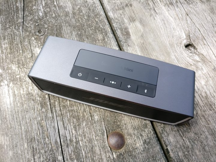 Control the Bose SoundLink Mini II with the controls on top or right from your phone.