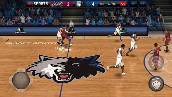 Puede lidiar con algunos problemas de NBA Live Mobile durante el lanzamiento del juego.