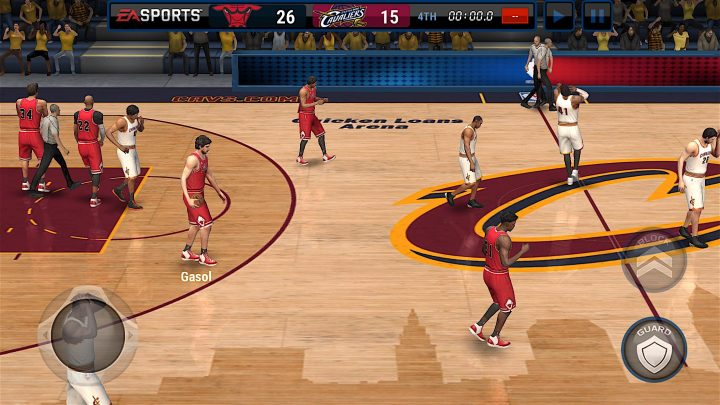 No confíe en los trucos y trucos de NBA Live Mobile.