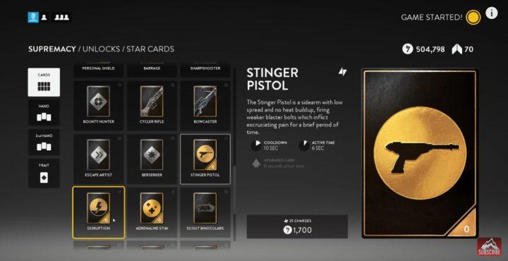 Stinger-Pistol