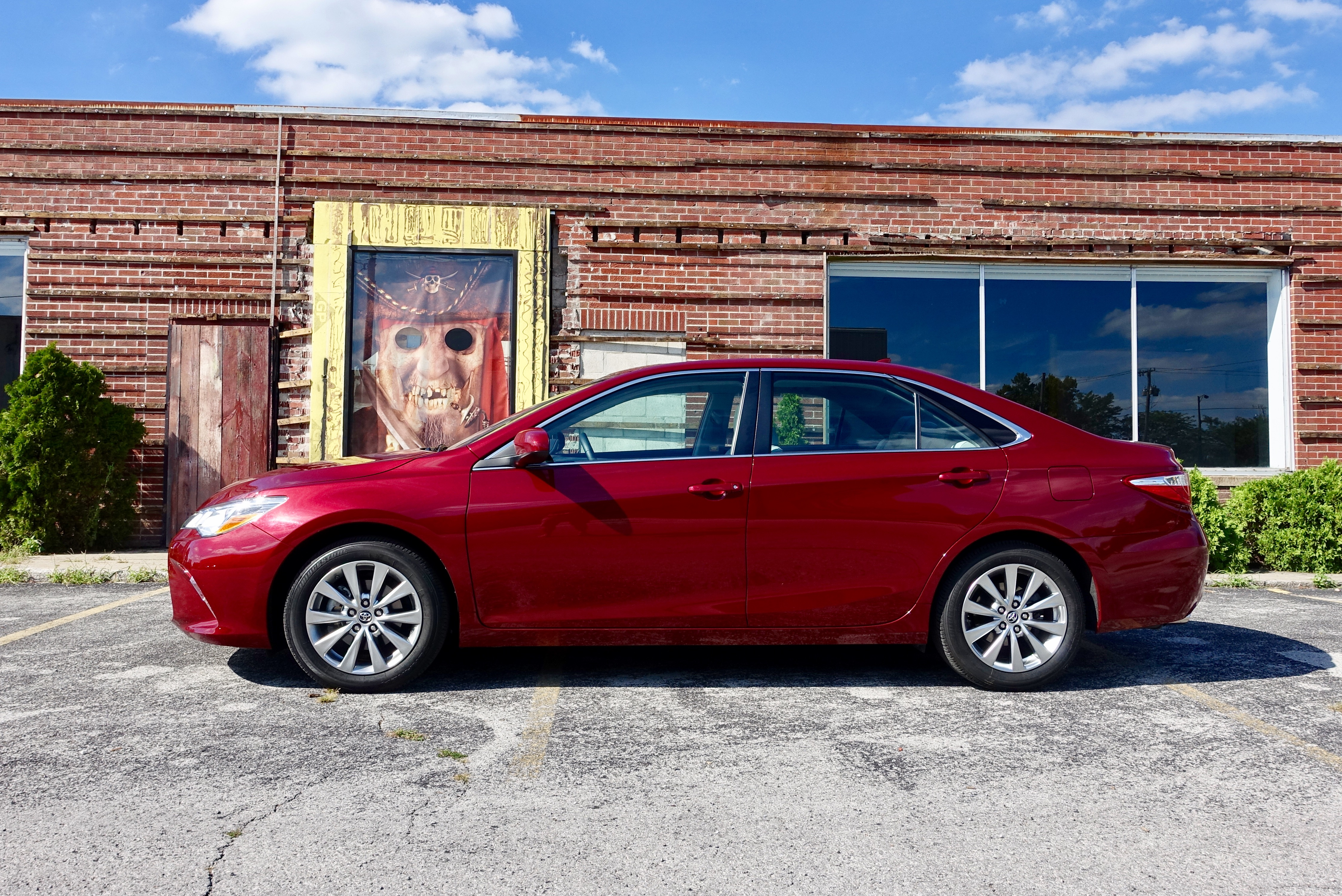 Don't pass over the 2016 Toyota Camry.