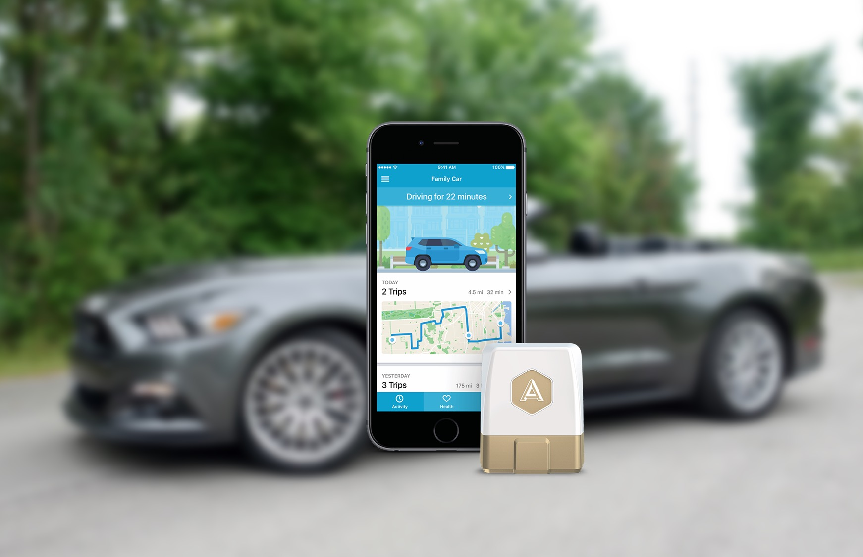 The Automatic Pro turns any car into a smart car with apps.