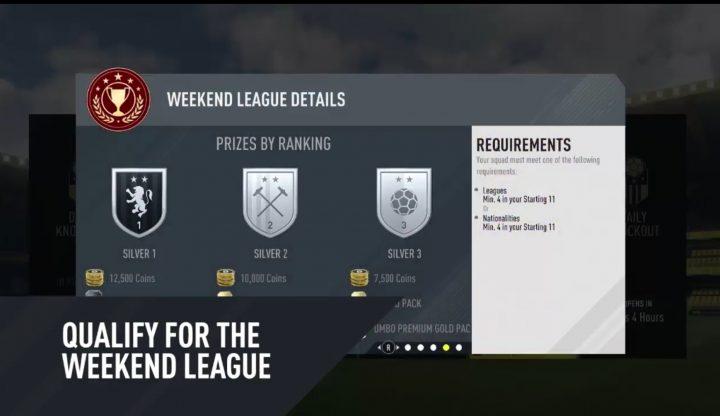 FIFA 17 FIFA Ultimate League Updates