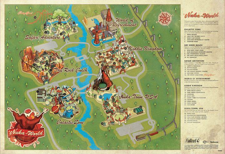 Nuka World Map